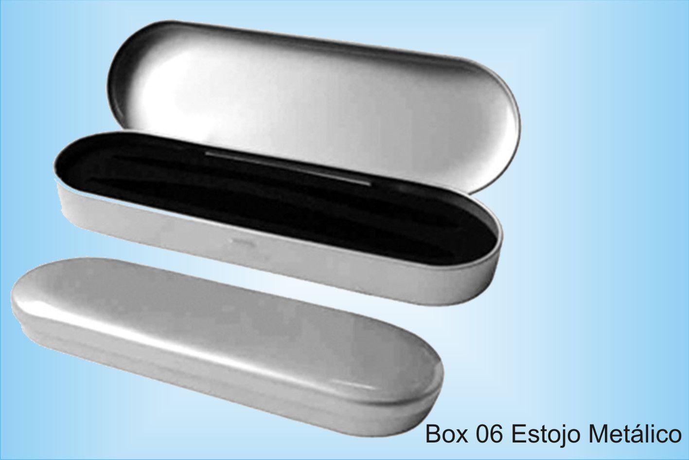 BOX 06 ESTOJO METÁLICO